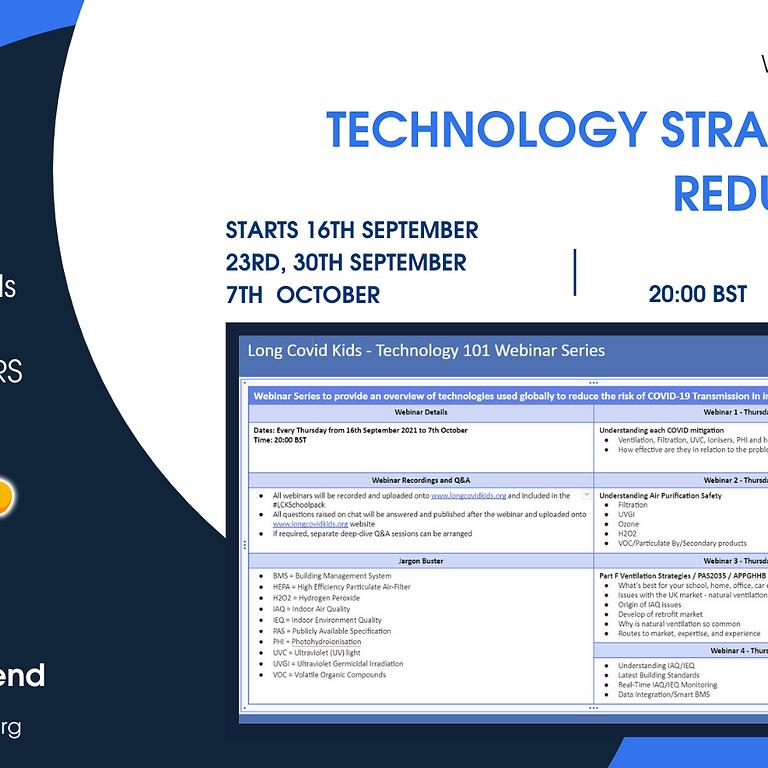 Technology Strategies 101 Reducing Risk  Week 2