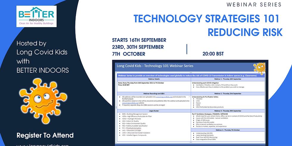 Technology Strategies 101 Reducing Risk  Week 4