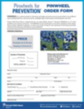 PCA Illinois Pinwheel Order Form (6-19-1
