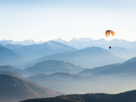 Flying Scared (Paragliding!) - Video