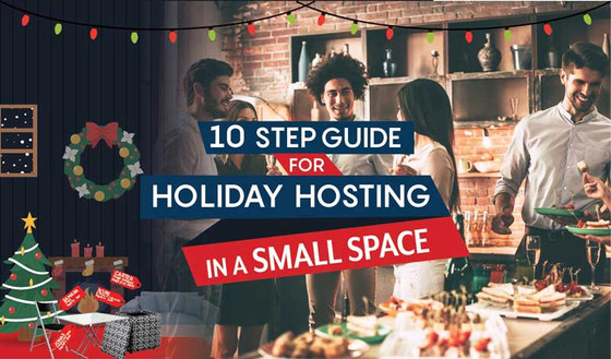 10 Step Guide for Holiday Hosting In a Small Space