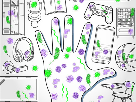 How does COVID-19  spread? GERMS! : The Invisible Enemy & how it can be defeated...