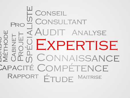 Vous êtes un pro de l'expertise...