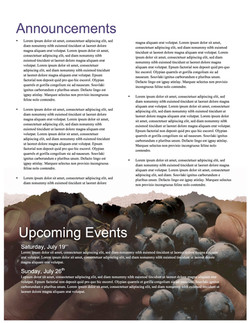 pg 4 The Fruit of the Spirit Religious Newsletter
