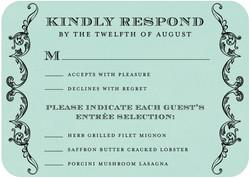 Response Card - Sample (not mine)
