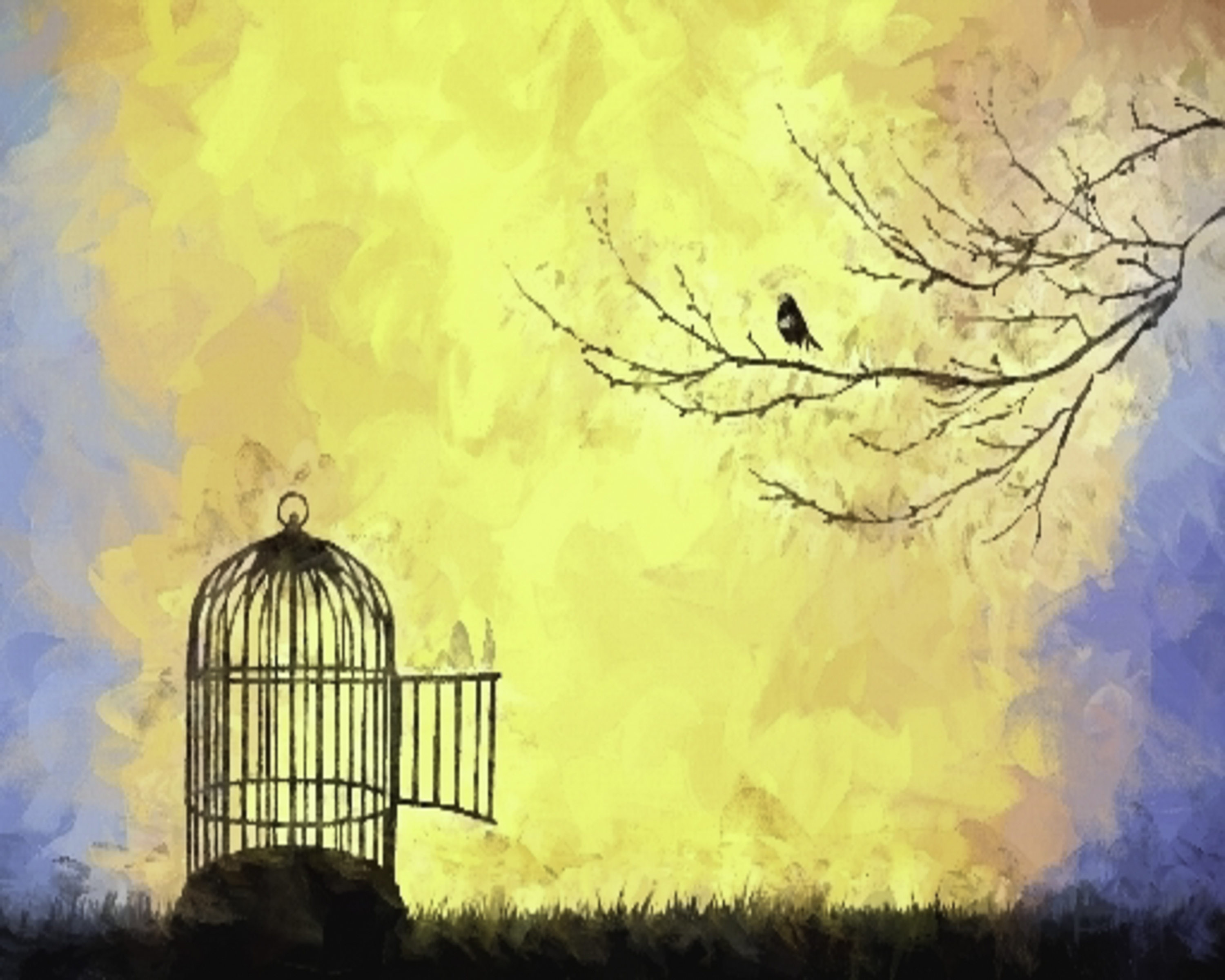 Free-Bird out of cage