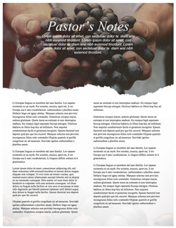 pg 3 The Fruit of the Spirit Religious Newsletter