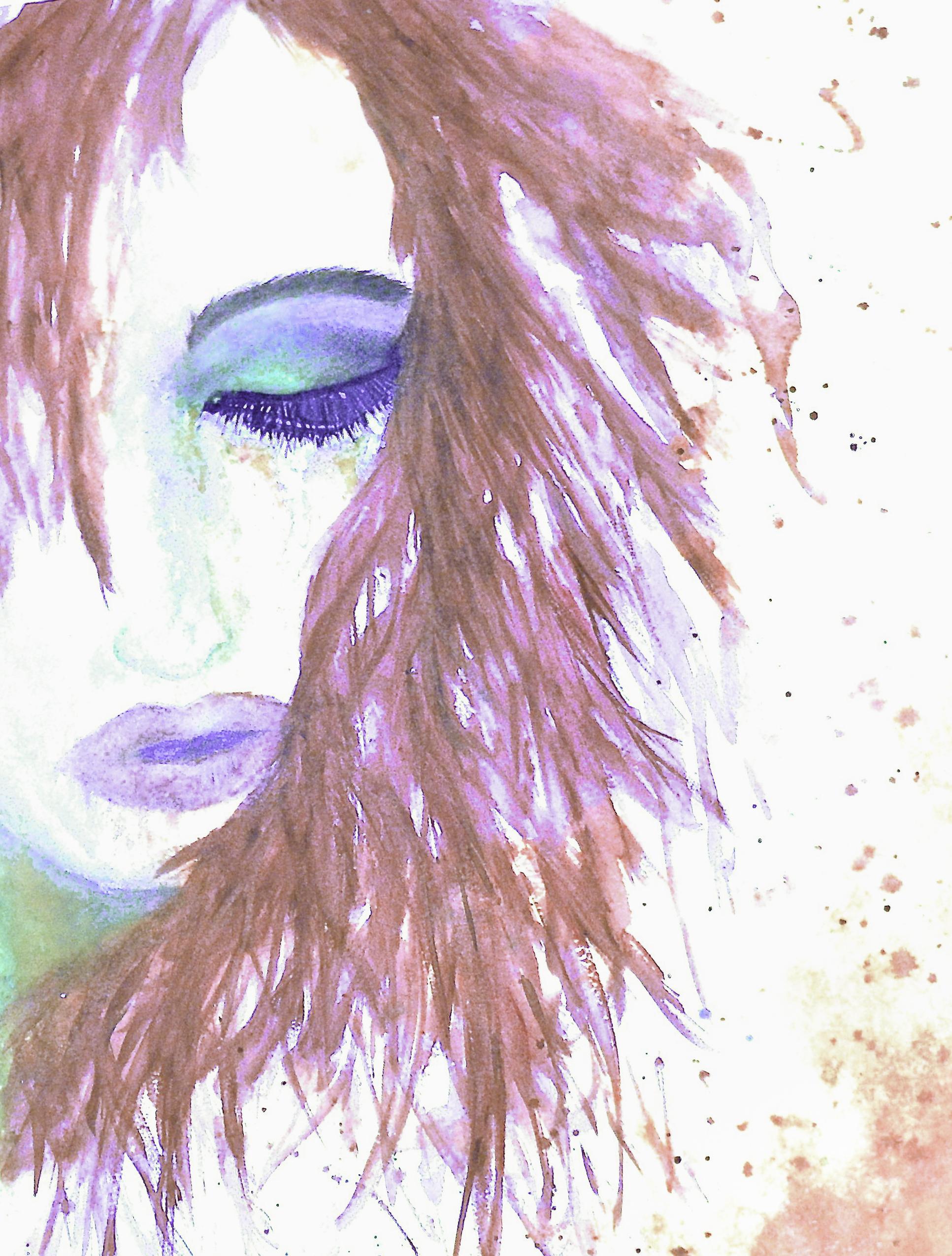 Release-Pink hair-peacock eye 2014
