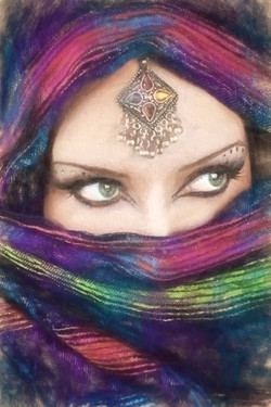Alure (lady in head wrap)