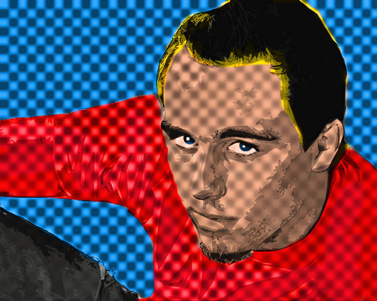 Ryan pop art
