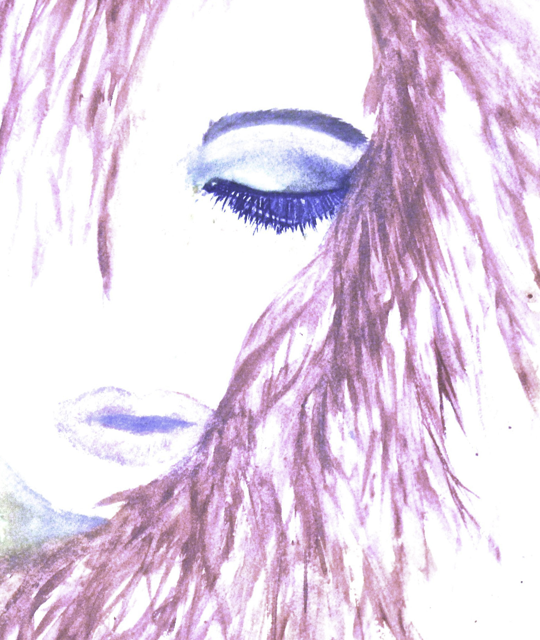 Release-Blue shadow-pink hair 2014-4