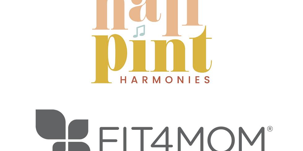 half-pint harmonies gets fit4mom