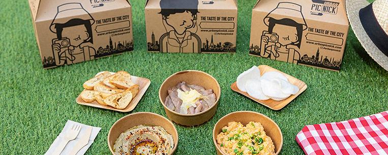 naturaleza gastronomía picnic comida mediterránea