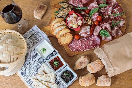 picnic italiano naturaleza gastronomía pizza pasta