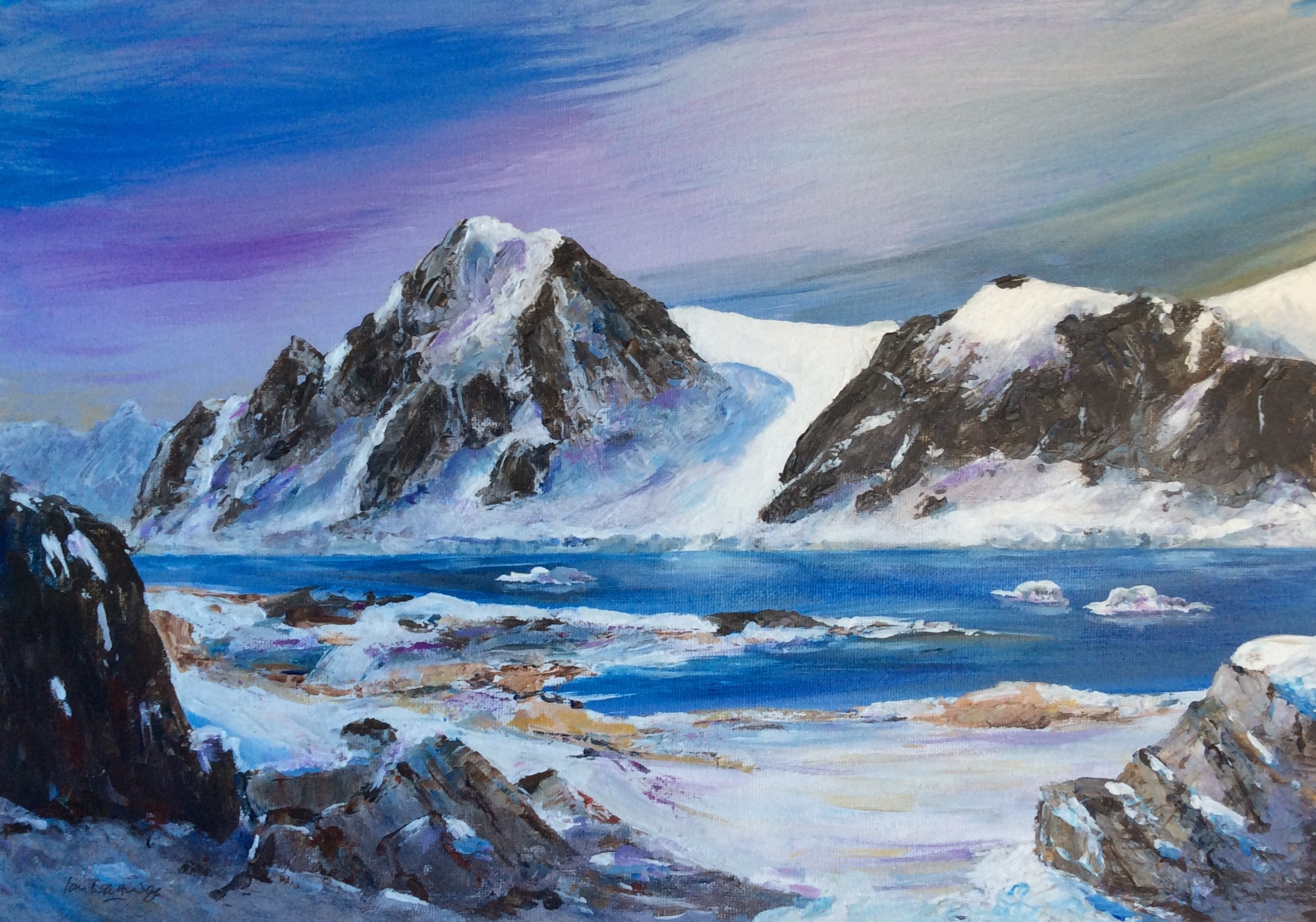 Petermann Island - £250