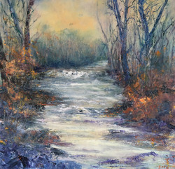 Autumn Falls North Wales - £325