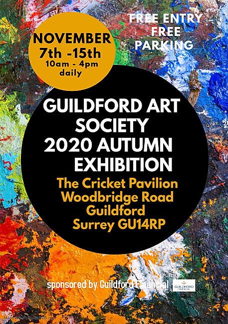 Copy of art exhibition flyer template -