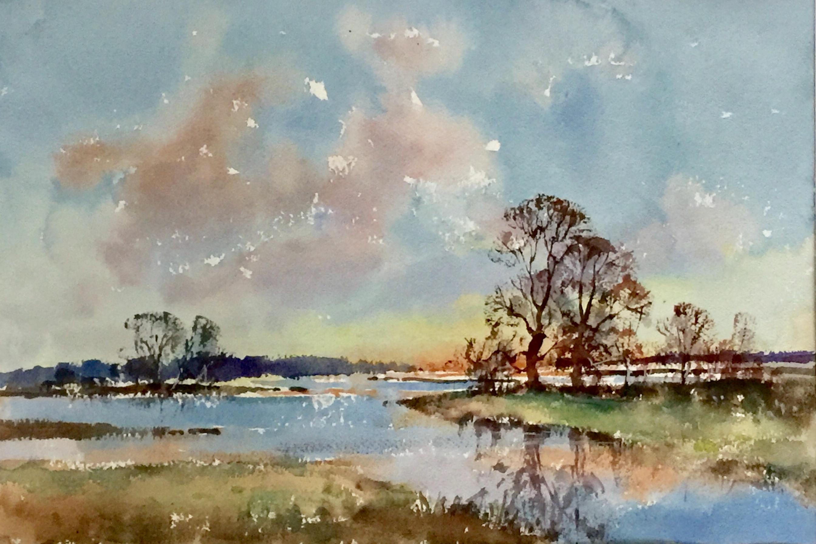 Blue Sky's Over Floodland - £285