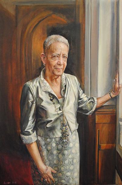 Jane Allison - Baroness Howells - Oil.jp