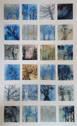 Tree Squares Large - £375