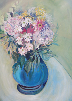 Blue Vase - £120