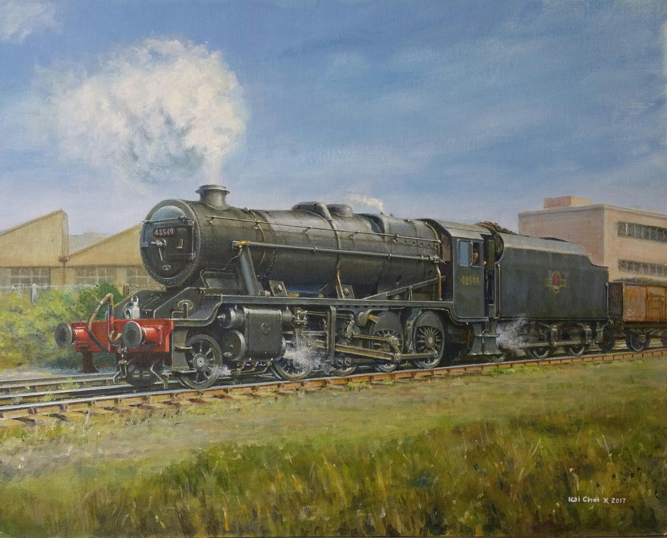 Stanier 8F Locomotive - £450