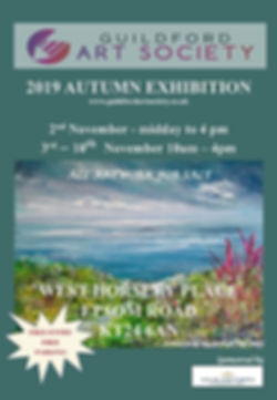 Poster - Autumn 2019 - West Horsley Plac