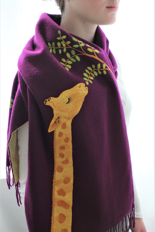 La Giraffe et l'acacia - £110