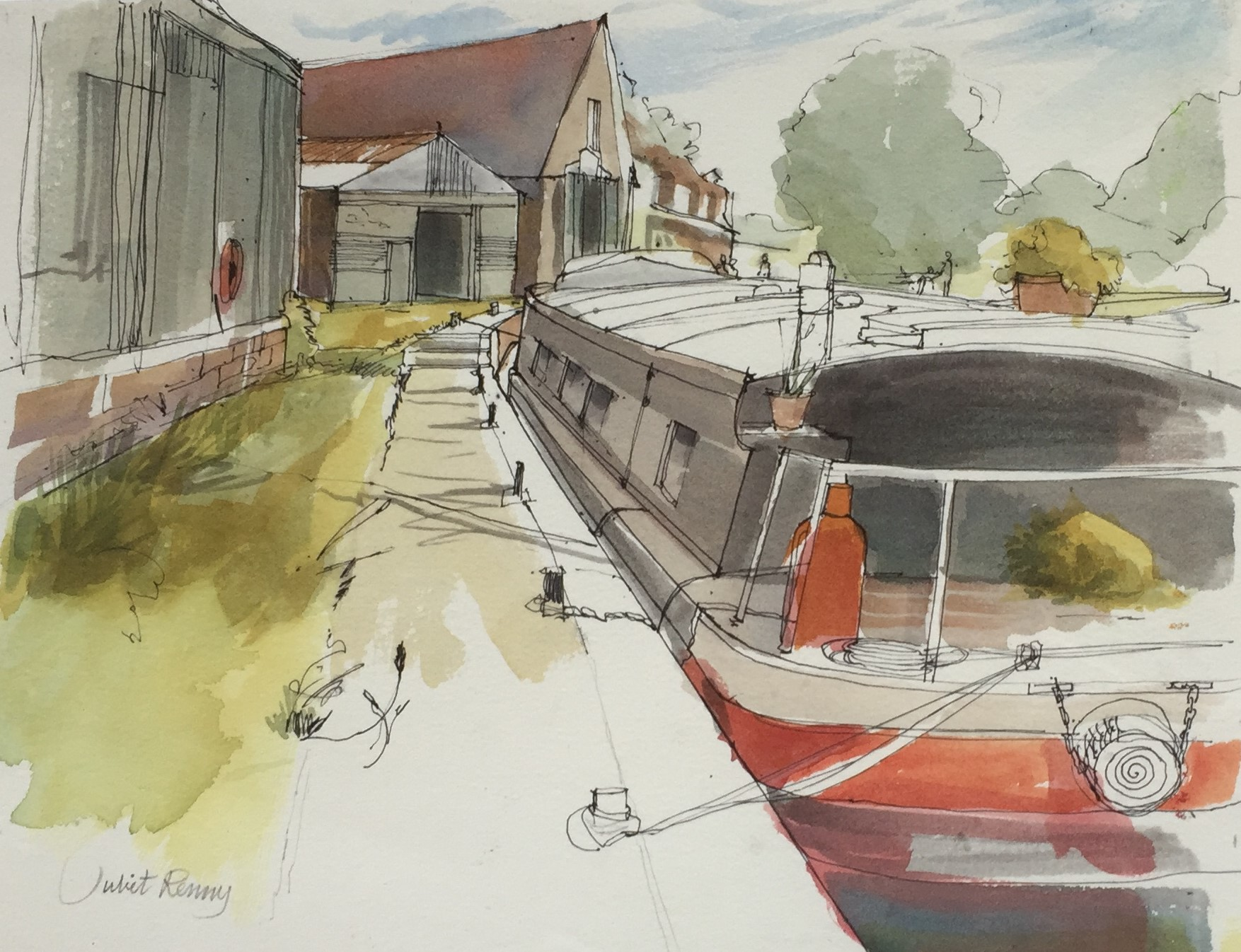Dapdune Wharf  - £300