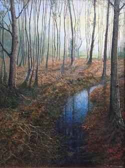 Winter Sundown - £475