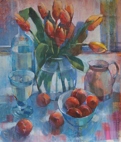 Tulips and Plums - £295