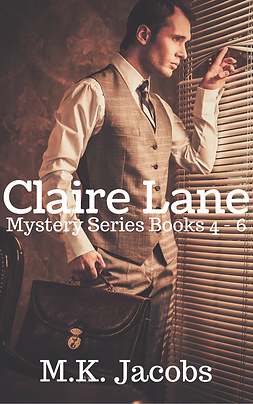 Claire Lane Mystery Series Book 4-6