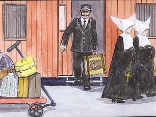 Inspector Roux goes to Paris