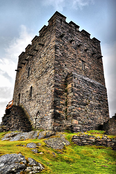 Dolwyddelan Castle keep