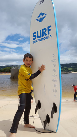 Boy at Surf Snowdonia