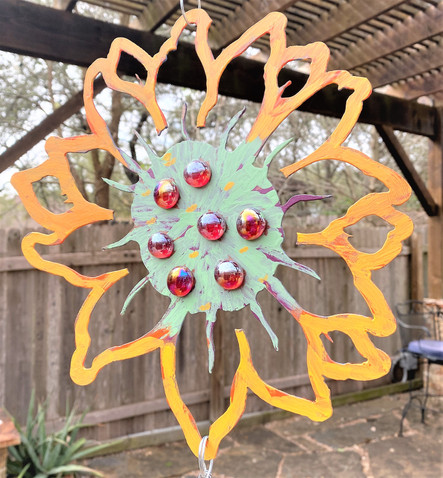 Sunflower, open cut