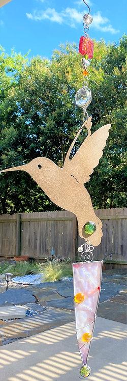 Hummingbird, in Flight