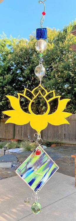 Flower, Lotus, in yellow