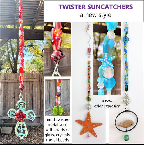 Twister Suncatchers