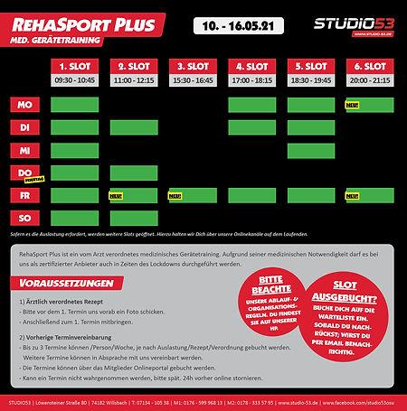 05-21 RehaSport Plus - Trainingszeiten 1