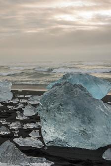 ICELAND - Jokulsarlon Beach