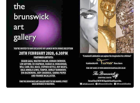 Newly opening Brunswick Arts Gallery.