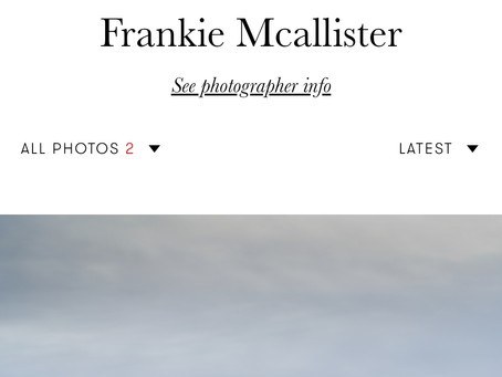 Vogue Italia - one of my Orkney abstracts
