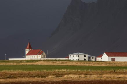 Typical Icelandic Chapel