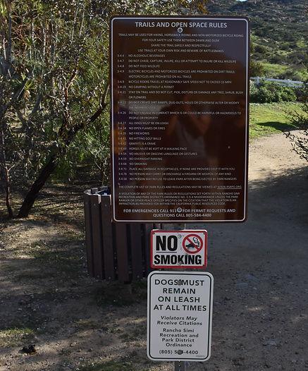 Hummingbird trail hike, Santa Susanna pass