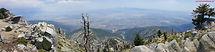CucamEcho mountain hike, Mt. Baldy, San Antonio, Hollywood sign hike topo map, cucamonga peak
