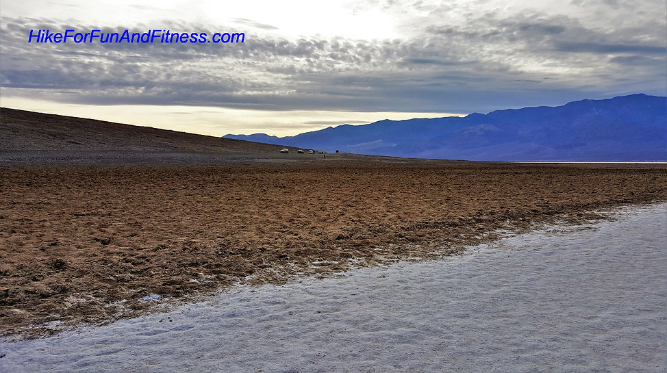 Badwater basin, Devils golf course, Dantes view, Mosaic canyon, Natural bridges Death valley, hike for fun and fitness, Mesquite sand dunes hike, california hike bridges,
