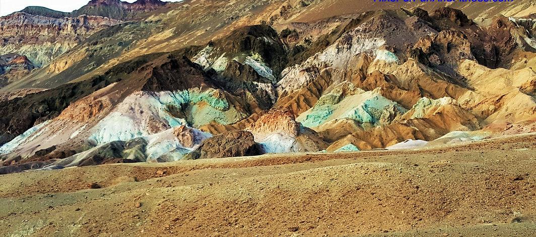 Artist's palette hike, Death valley