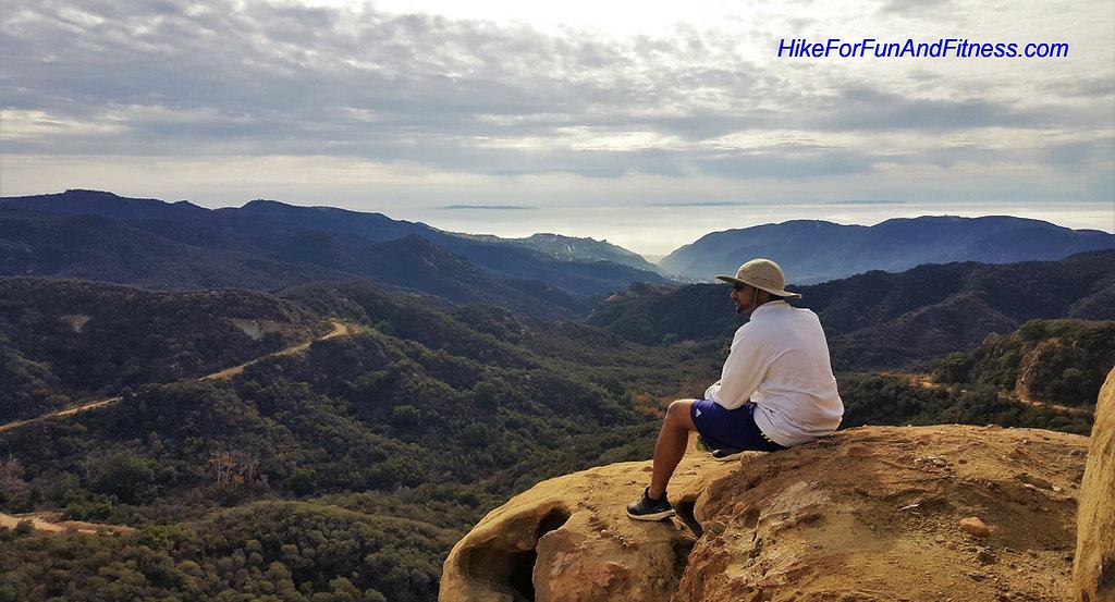 Eagle rock hike, Malibu Topanga State Park