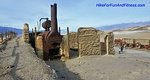Harmony Borax works, Badwater basin, Devils golf course, Dantes view, Mosaic canyon, Natural bridges Death valley, hike for fun and fitness, Mesquite sand dunes hike, california hike bridges,